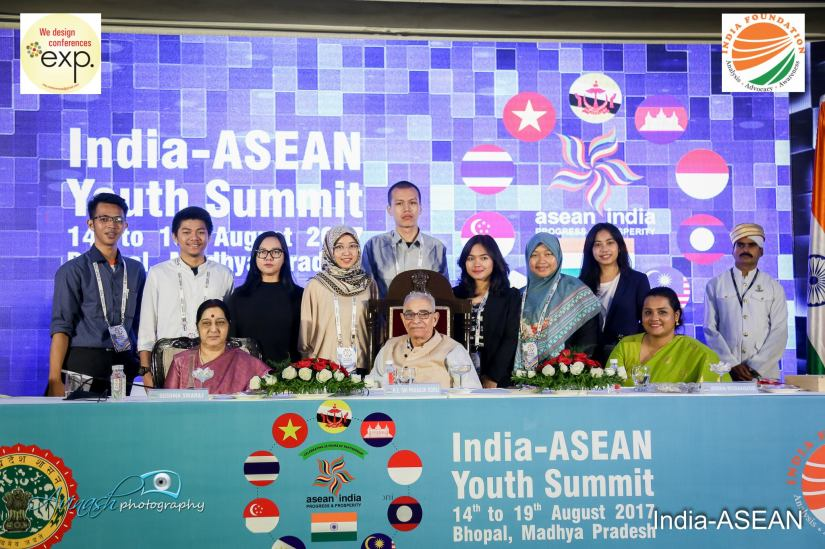 Mewakili Indonesia di India ASEAN Youth Summit 2017 di Bhopal