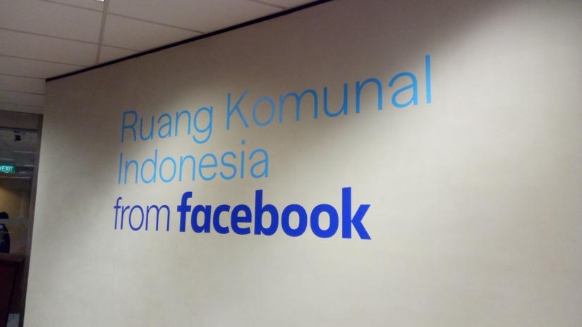 Main ke Ruang Komunal & Kantor FacebookIndonesia