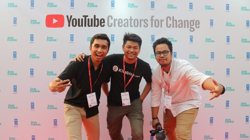 Banjir Inspirasi di Youtube Creators For Change Jakarta 2018