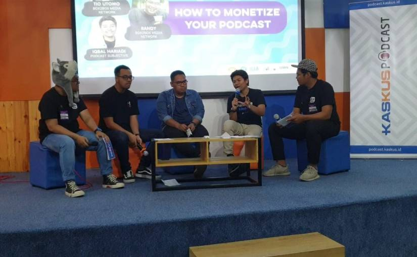 2019: Tahunnya Podcast Masuk Fase Industri diIndonesia