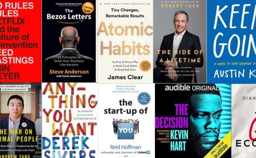 10 Buku Terbaik yang Saya Baca di2020